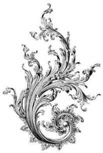filigree clip art continue reading set of floral vintage angel clip art free read our terms of use and