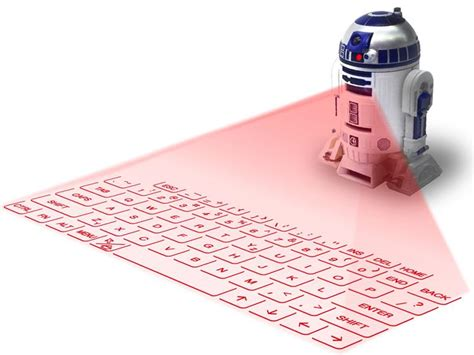 Proyektor Keyboard The R2 D2 Projection Keyboard Is Definitely The Droid You