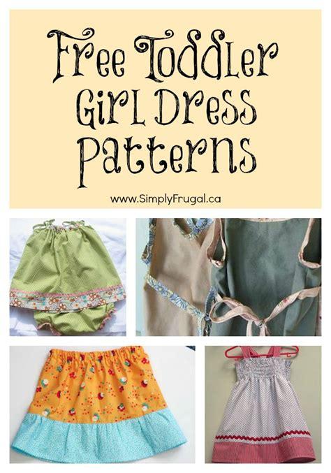 dress pattern toddler free free toddler girl dress patterns