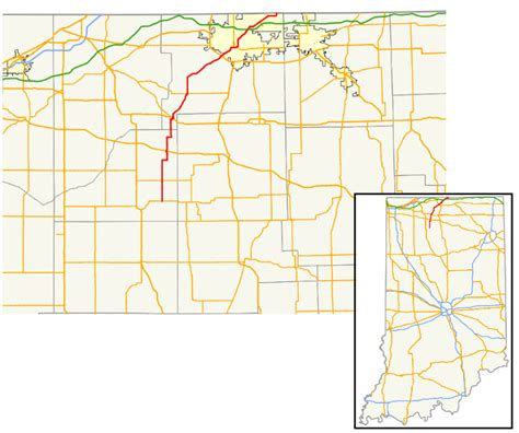 file map of indiana state road 23 svg