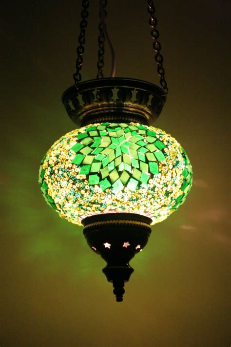 Turkish Mosaic Hanging Ls by Large Turkish Moroccan Mosaic Hanging L Pendant Lantern