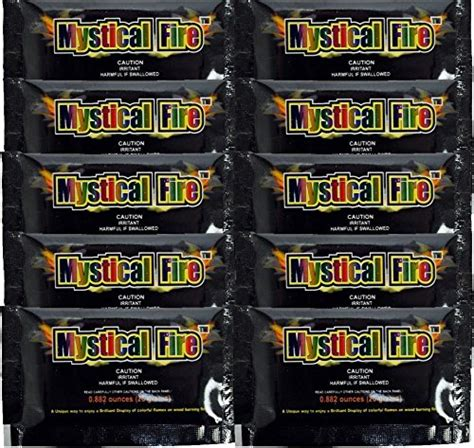 Mystical Cfire Fireplace Colorant Packets by Mystical Cfire Fireplace Colorant 0 882 Oz Packets