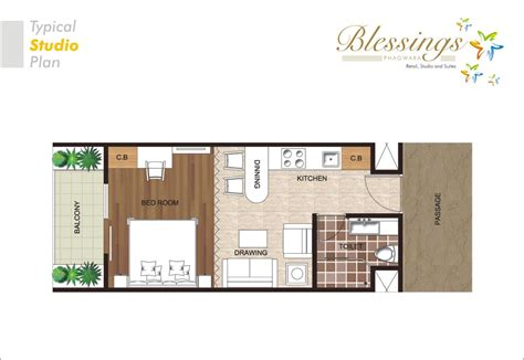 studio floor plan elegant studio apartments plans residential plan
