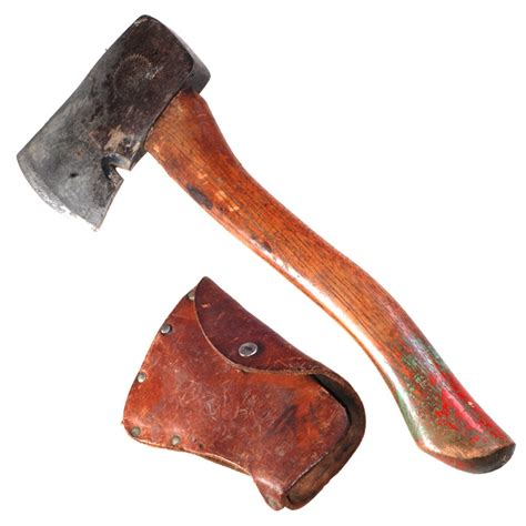 1940 s boy scouts of america bsa plumb hatchet axe and