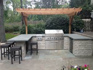 Chicago Patio Bars Built In Bbq Grill Surround Contemporary Patio