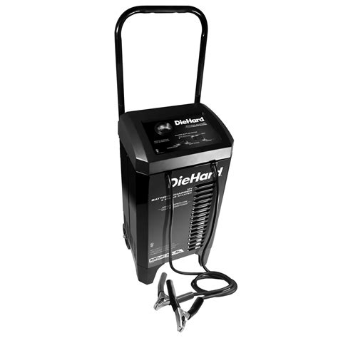 diehard battery charger and engine starter diehard 200a wheeled battery charger engine starter sears
