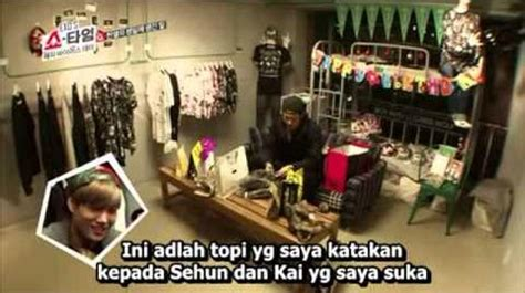 exo showtime sub indo video indo sub exo showtime ep 3 exo wiki fandom
