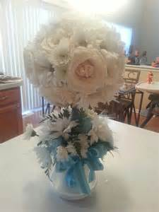 centerpiece for baptism boy boy baptism centerpiece my baby s baptism christening