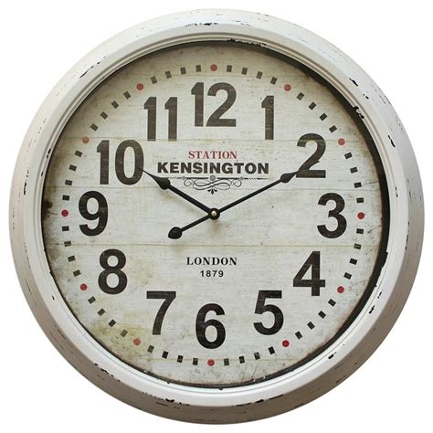 home decor wall clock yosemite home decor 24 in circular iron wall clock