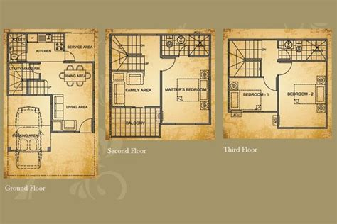 Blue Prints For Houses bellefort estates cavite real estate in philippines