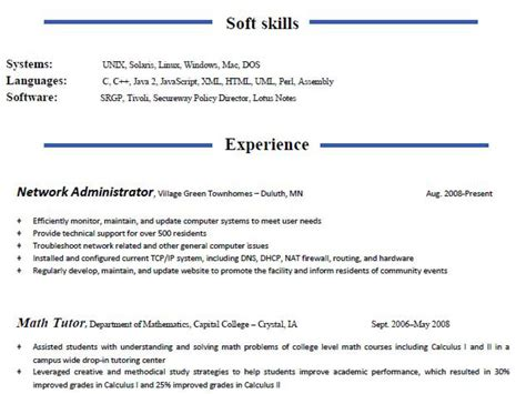 functional and combination resume guide part 2 worklifegroup