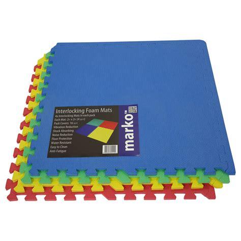 play mat foam tiles 32 sq ft interlocking soft foam exercise floor mats
