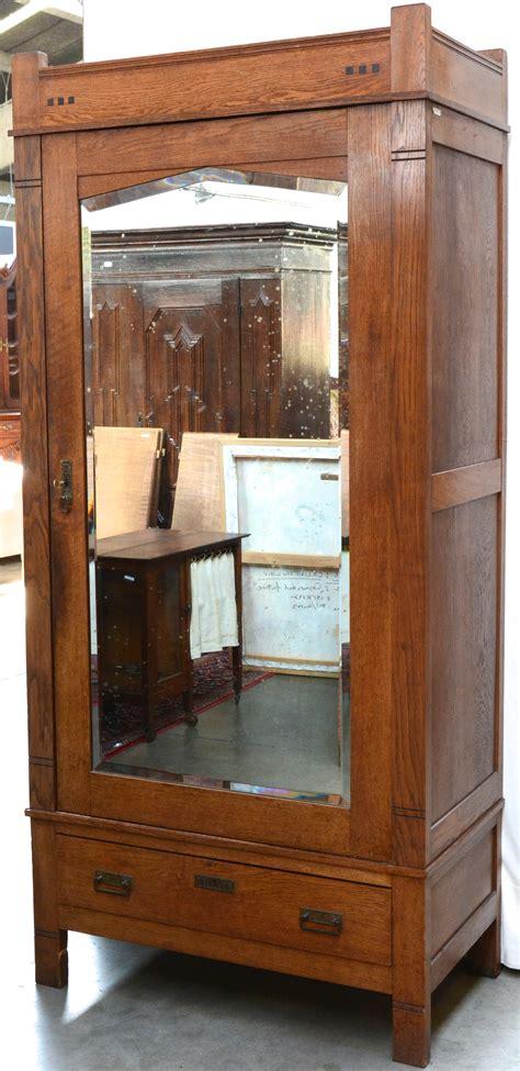 lade deco een eikenhouten spiegelkast met een lade onderaan in
