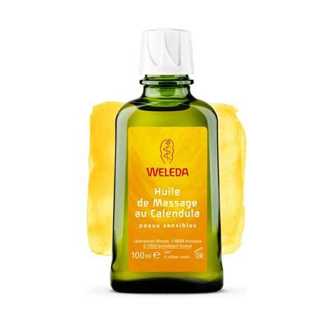 weleda huile de au calendula 100 ml