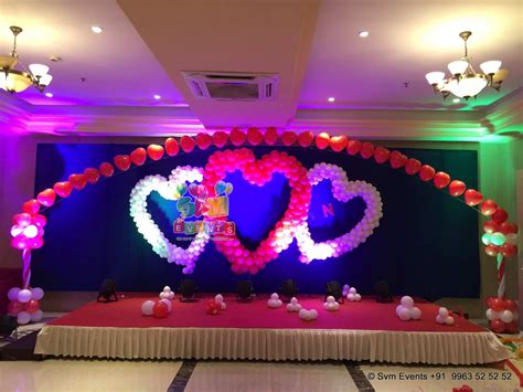 about decoration svm events christian engagement ceremony decoration