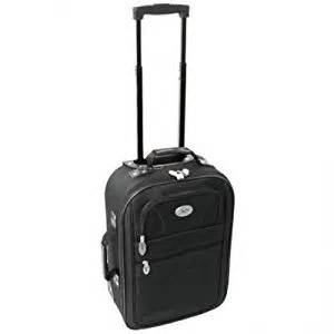 get suitcase style 18 inch wheeled flight cabin