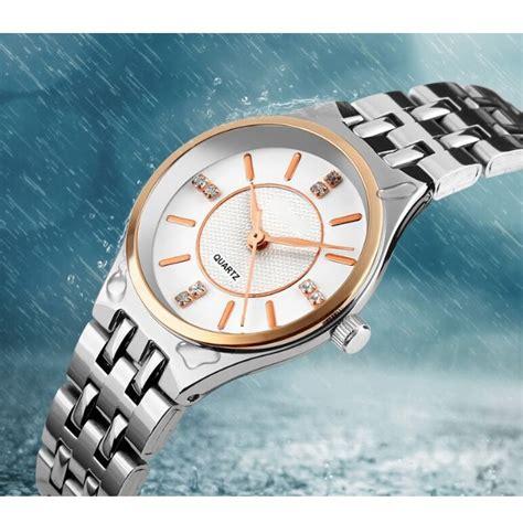 Jam Pria Wanita 23 mortima jam tangan kasual wanita metal model 23