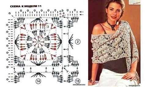 piastrelle crochet schemi square uncinetto schemi uncinetto stola a