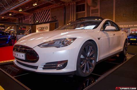 2014 Tesla Model S Autosport International 2014 Tesla Model S P85 Gtspirit