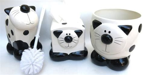 Janet England S Blog Black And White Cat Accessories To Cat Bathroom Accessories