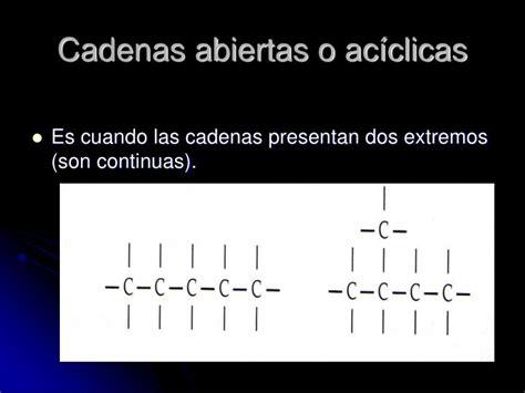 cadenas saturadas normales ppt tipos de cadenas carbonadas powerpoint presentation