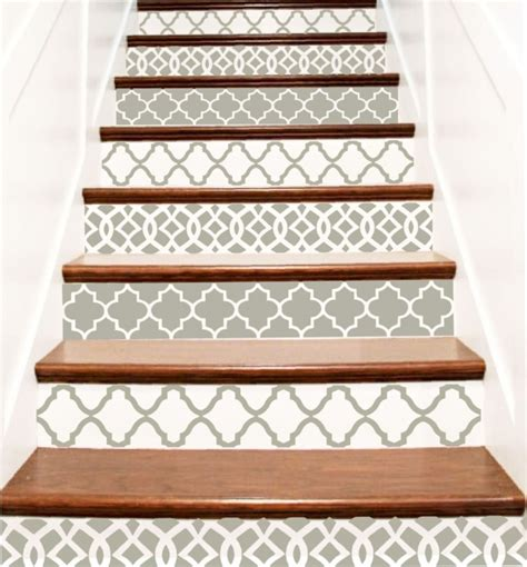 Decorative Stair Risers by Decorative Stair Risers Unique Staircase Image 61 Stairs