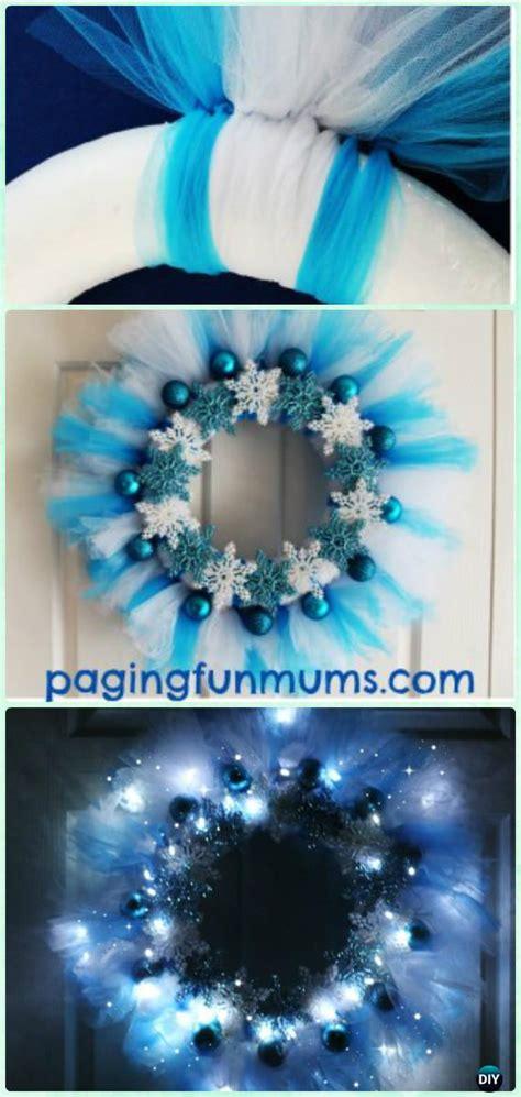 diy christmas wreath craft ideas holiday decoration instructions