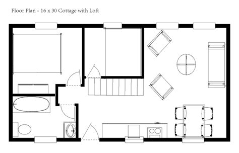 16 X 16 Cabin Floor Plans by 12 X 24 Cabin Floor Plans 16x30 Cabin Floor Plans 16 X 16
