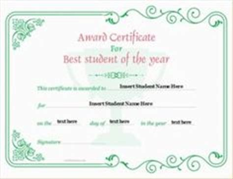 student of the year certificate template mathematics excellence award certificate template for ms
