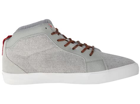 levis shoes franklin casual grey shipped free at zappos