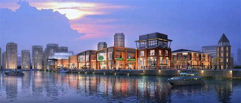 Dimensions by Waterfront Development Of Jinhai Lake Ua Hie Design