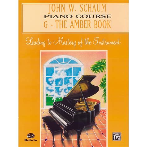 you at piano books alfred w schaum piano course g the book