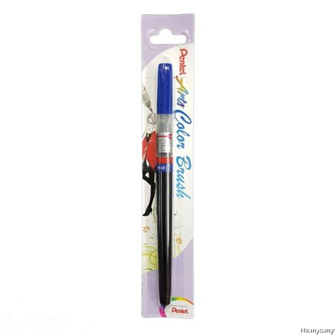 pentel color brush pentel arts color brush pen blue xgfl 103x