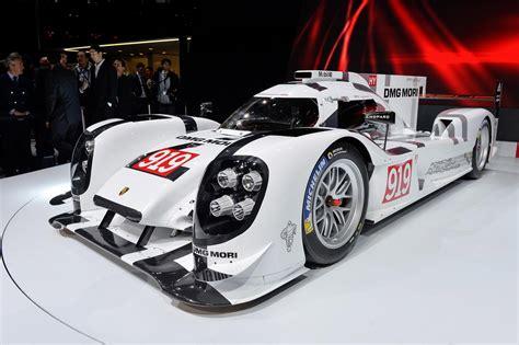 porsche prototype race cars 2014 porsche 919 hybrid le mans prototype races into