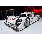 2014 Porsche 919 Hybrid Le Mans Prototype Races Into