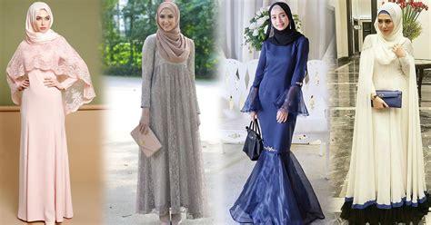 Gaun Hijabers by Model Gaun Kekinian Yang Paling Cocok Untuk Hijabers Ohayo