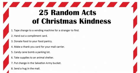 christmas kindness 2015 calendar template 2016