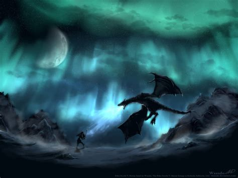 paint deviantart skyrim by wasudo on deviantart