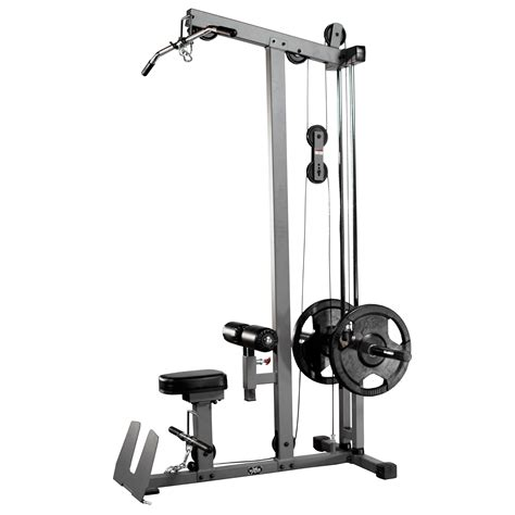 xmark commercial lat pulldown and low row cable machine xm