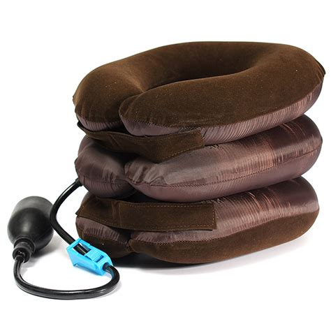 Cervical Traction Pillow by Air Cushion Neck Cervical Traction Shoulder Support Brace