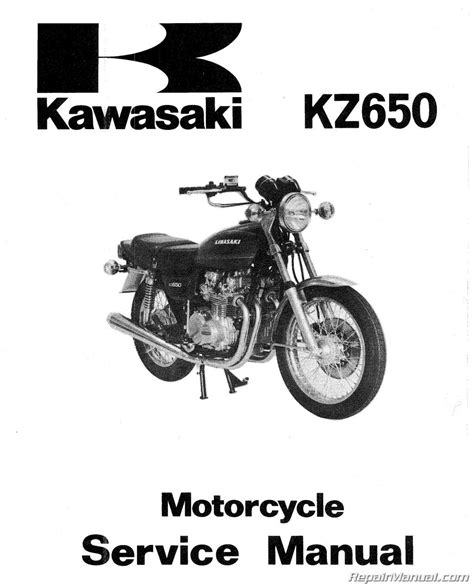 motocross bike repairs 1978 1980 kawasaki kz650 motorcycle repair manual