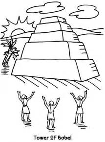 tower of babel coloring page tower of babel coloring page az coloring pages