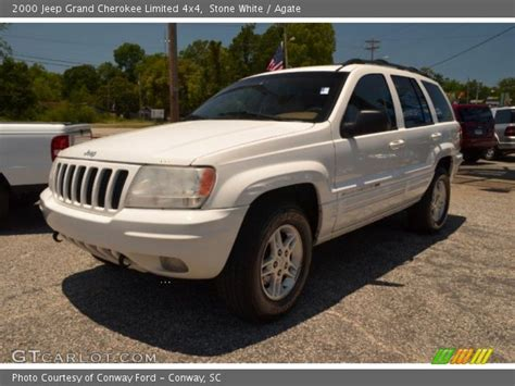 2000 Jeep Grand Limited 4x4 White 2000 Jeep Grand Limited 4x4 Agate