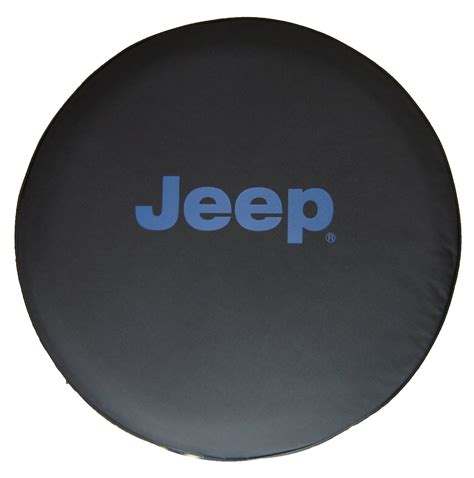 Tire Cover For Jeep Sparecover Brawny Series Jeep 32 Blue Logo Tire Cover