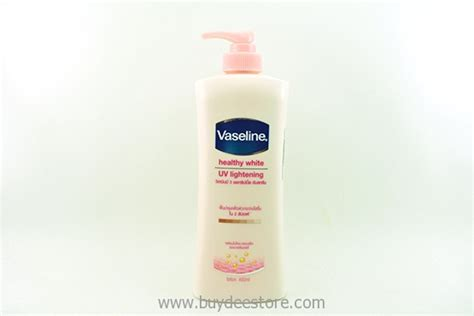 Vaseline Healthy White Uv Lightening 200 Lotion 200 vaseline healthy white uv lightening lotion 400ml buydee store