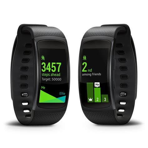 Amazon.com: Samsung Gear Fit2 Smartwatch Large, Black: Cell Phones & Accessories