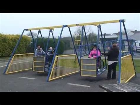 handicap swing wheelchair swing