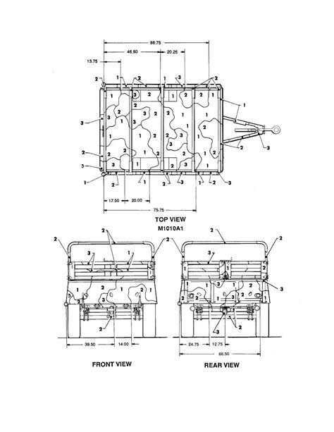 sketch book pdf figure 122 trailer cargo 3 4 ton 2 wheel m101a1 1 of 2