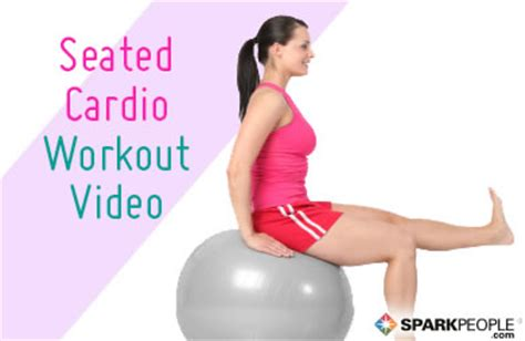 seated cardio limited mobility sparkpeople