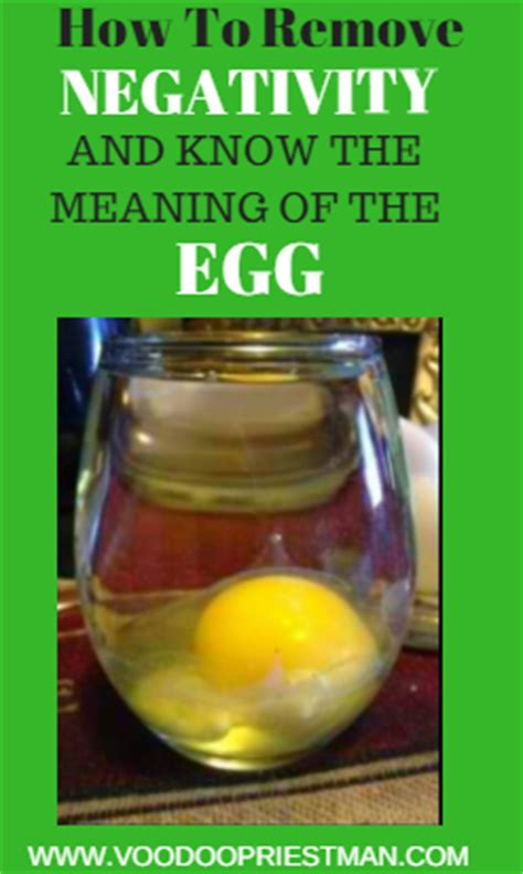 Egg Detox by What Is An Egg Cleansing And How To Read The Egg Voodoo